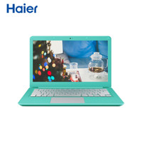 Haier 海尔 其他 S310 13.3英寸笔记本电脑(蓝色、Intel 其他、4GB、128G固态、Intel HD Graphics 5500)