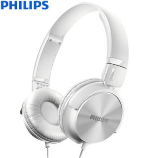 PHILIPS 飞利浦 SHL3060 头戴式耳机 白色