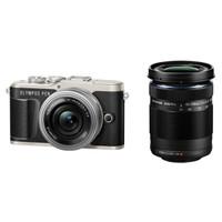 OLYMPUS 奥林巴斯 E-PL9 双镜头单电套机(14-42mm EZ+40-150mm)黑色