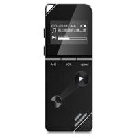 山水录音笔 学生会议取证高清录音专业降噪 微型迷你MP3播放器 F9 8G 黑色