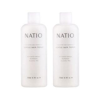 NATIO 洋甘菊玫瑰爽肤水 250ml 2瓶装