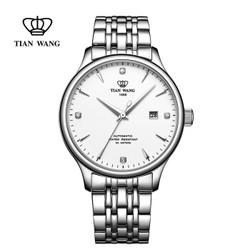 TIAN WANG 天王 男士钢带机械表