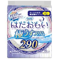 unicharm 尤妮佳 温柔肌敏感肌 夜用卫生巾  290mm 15片