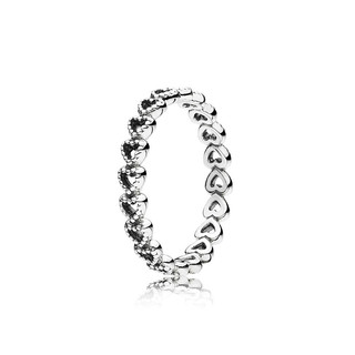 再降价 :  PANDORA 潘多拉 190980 心相连925银戒指  *3件