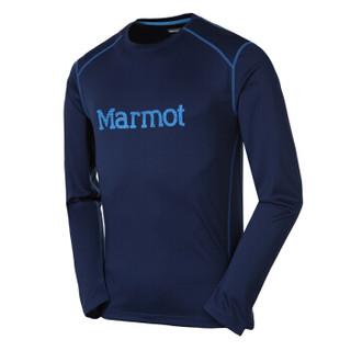 Marmot 土拨鼠 S54310 男款长袖T恤