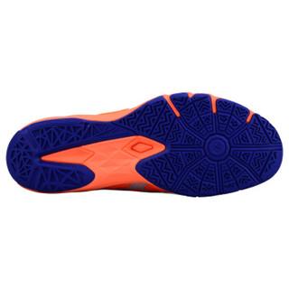 ASICS 亚瑟士 R703N 男子羽毛球鞋 橘蓝色 43.5