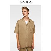 ZARA 06917392708 男士垂性短袖衬衫 L