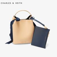 CHARLES & KEITH CK2-10270156 女士单肩包 (米色)