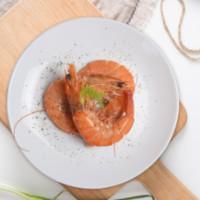 禧美海产 厄瓜多尔白虾1000g 盒装 50-60只 大虾 海鲜水产