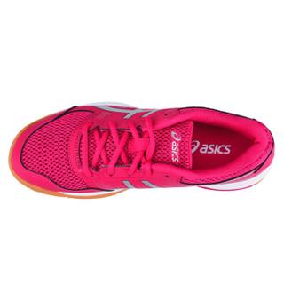ASICS 亚瑟士 B756Y-2193 女士羽毛球鞋 (粉色、37)