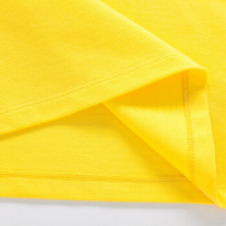 Semir 森马 19037000601 女士短袖Polo衫 奶黄 S