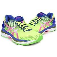 限36码:Asics 女式 GEL-NIMBUS 18 缓震跑步鞋T650N-0735