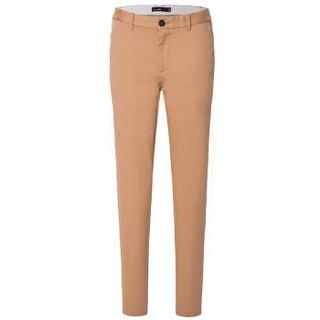 Semir 森马 13316271201 男士纯色修身休闲长裤 卡其 29