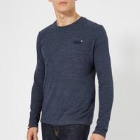 凑单品:Superdry 极度干燥 Orange Label 男士长袖T恤
