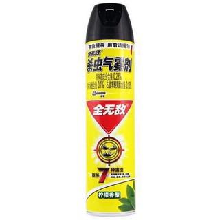 全无敌 杀虫气雾剂 水基柠檬香型 600ml *2件