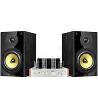 诺普声(Nobsound)CS1020家庭影院 音响组合 家庭影音 胆机功放机 hifi音响组合套装常规款黑色