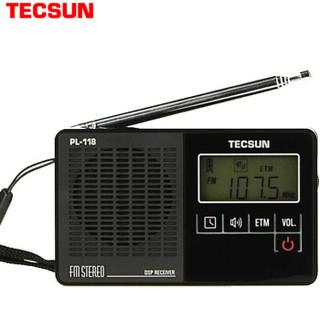 TECSUN 德生 PL118 收音机 (黑色)