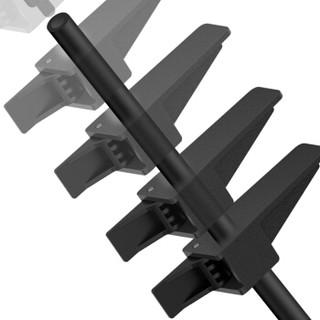 酷冷至尊(Cooler Master) 显卡支撑架(支持各式机箱/ 防止长显卡弯曲 /底部磁吸功能/安装位任意调整)黑色