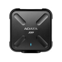 ADATA 威刚 SD700 USB3.1 移动固态硬盘 512GB 黑色