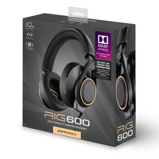 plantronics 缤特力 RIG 600 Dolby Atmos 全景声 游戏耳机