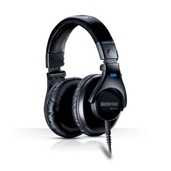 SHURE 舒尔 SRH440 头戴式入门级监听HiFi耳机 黑色