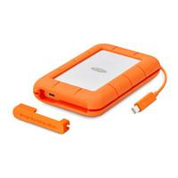 LaCie 莱斯 Rugged 雷电 USB3.1 Thunderbolt USB-C 2.5英寸 2TB 移动硬盘
