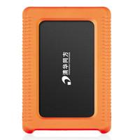 THTF 清华同方 DMS-XH750 750G 2.5寸移动硬盘 黑色