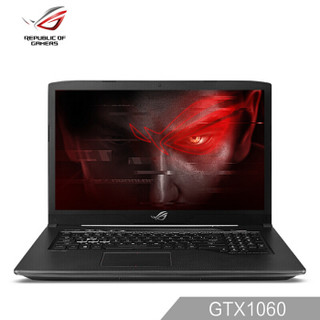 ROG 枪神plus 17.3英寸 游戏笔记本电脑(i7-7700HQ 8G 128GSSD+1T GTX1060 6G独显、120HZ)