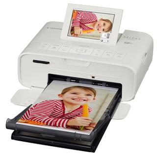 Canon 佳能  SELPHY炫飞 CP1300 照片打印机 白色