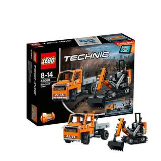 LEGO 乐高 机械组 修路工程车组合 42060