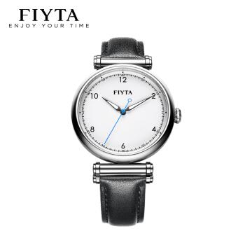 FIYTA 飞亚达 印系列 A1001.WWB 智能手表 白盘 黑色皮带