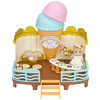 Sylvanian Families 森贝儿家族 商店系列 过家家场景玩具 冰淇淋工厂SYFC52288