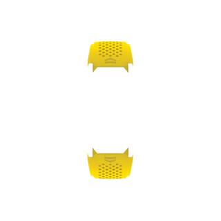 TAG Heuer 泰格豪雅 2FT6082 黄色橡胶表带适配PVD黑钛合金表扣 45毫米