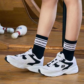 SKECHERS 斯凯奇 D'lites 88888129 女款休闲运动鞋