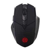 英菲克(INPHIC)PM6 无线鼠标 可充电便携鼠标 电脑台式笔记本2.4G通用 黑 *2件