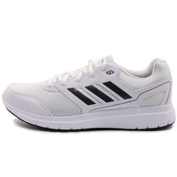 adidas 阿迪达斯 DURAMO LITE 2.0 CG4045 男子跑步鞋 白/碳黑/碳黑 39.5