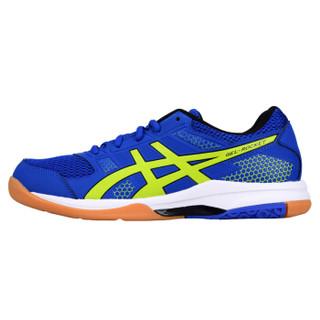 ASICS 亚瑟士 B706Y-4589 男士羽毛球鞋 (蓝色、40.5)