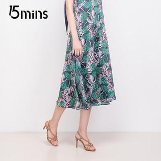 15MINS 15分钟 ULZ66BL8 女士细高跟凉鞋 (黑色、37)