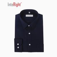 INTERIGHT 3135102 男士免熨烫商务款长袖衬衫