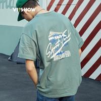 ViiSHOW TD1279182 男士圆领短袖T恤