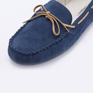 InteRight 男士豆豆鞋 (40、宝蓝色)