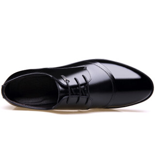 CARTELO 513 男士英伦正装皮鞋 黑色 40