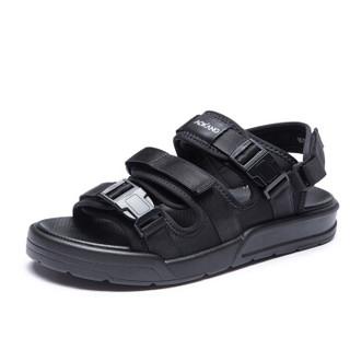 AOKANG 奥康 183730024 男士户外休闲凉鞋 黑色 42