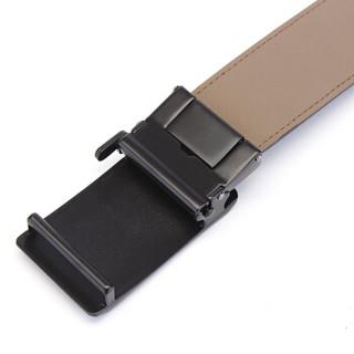 Samsonite 新秀丽 TK2*03012 男士自动扣牛皮皮带 棕色 120cm