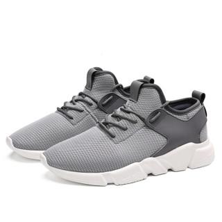 Semir 森马 WB967212 男士飞织跑鞋 灰色 39