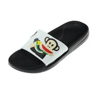 PAUL FRANK 大嘴猴 PF637 男女士沙滩拖鞋 白色 42