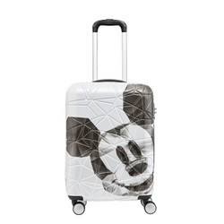 Samsonite 新秀丽 新秀丽拉杆箱男女行李箱万向轮旅行箱迪士尼卡通登机箱Sansonite AF9 白色(米奇)20英寸