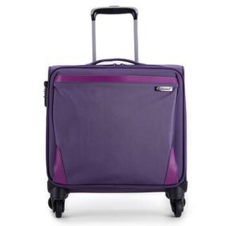 Diplomat 外交官 DE-1557G 万向轮航空箱 紫色 16英寸