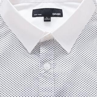 Semir 森马 13316051204 男士长袖衬衫 漂白 XL