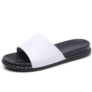 CARTELO 卡帝乐鳄鱼 KDLJZT3413 女士凉拖鞋 白色 37